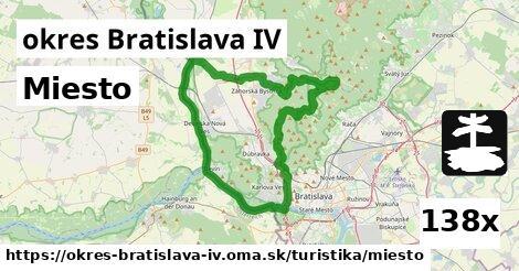 miesto v okres Bratislava IV