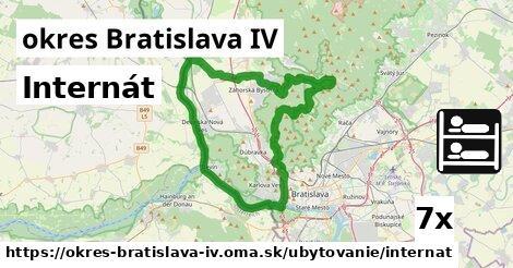 internát v okres Bratislava IV