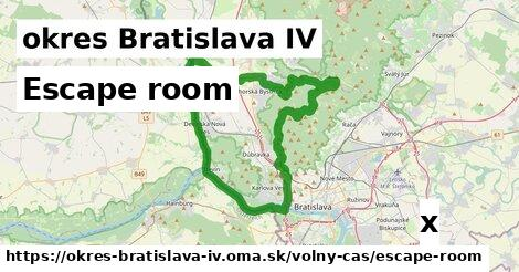 ilustračný obrázok k Escape room, okres Bratislava IV
