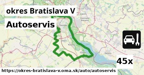 ilustračný obrázok k Autoservis, okres Bratislava V