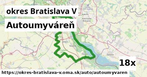 ilustračný obrázok k Autoumyváreň, okres Bratislava V