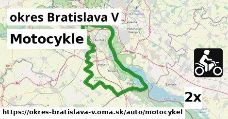 ilustračný obrázok k Motocykle, okres Bratislava V