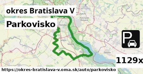ilustračný obrázok k Parkovisko, okres Bratislava V