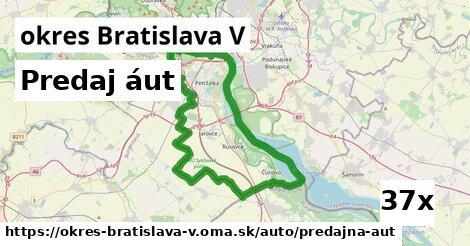 ilustračný obrázok k Predaj áut, okres Bratislava V
