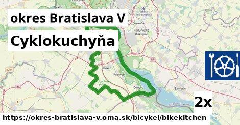 cyklokuchyňa v okres Bratislava V