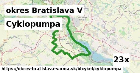 ilustračný obrázok k Cyklopumpa, okres Bratislava V
