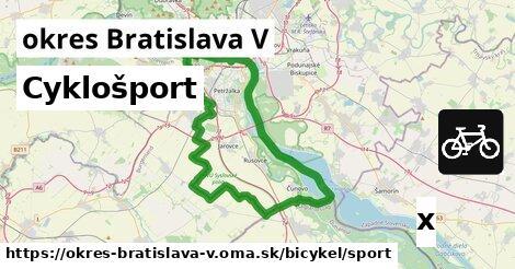 ilustračný obrázok k Cyklošport, okres Bratislava V
