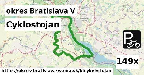 ilustračný obrázok k Cyklostojan, okres Bratislava V