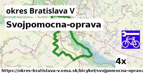 ilustračný obrázok k Svojpomocna-oprava, okres Bratislava V