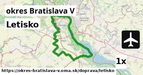 ilustračný obrázok k Letisko, okres Bratislava V