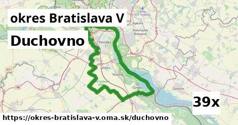 duchovno v okres Bratislava V