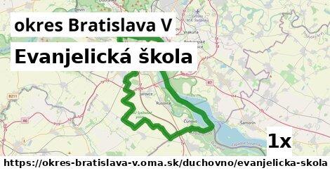 ilustračný obrázok k Evanjelická škola, okres Bratislava V