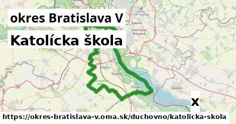 ilustračný obrázok k Katolícka škola, okres Bratislava V