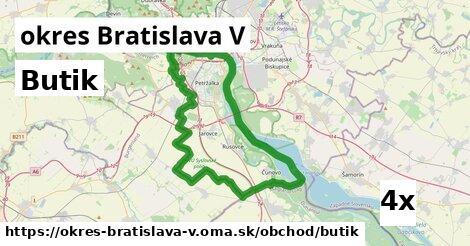 ilustračný obrázok k Butik, okres Bratislava V