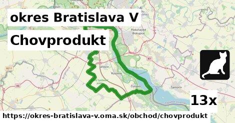 ilustračný obrázok k Chovprodukt, okres Bratislava V