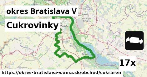 ilustračný obrázok k Cukrovinky, okres Bratislava V