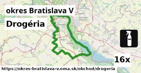 ilustračný obrázok k Drogéria, okres Bratislava V
