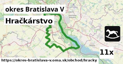 ilustračný obrázok k Hračkárstvo, okres Bratislava V