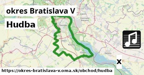 ilustračný obrázok k Hudba, okres Bratislava V