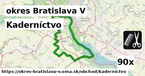 ilustračný obrázok k Kaderníctvo, okres Bratislava V