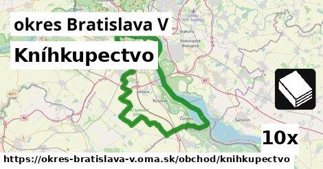 ilustračný obrázok k Kníhkupectvo, okres Bratislava V