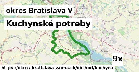ilustračný obrázok k Kuchynské potreby, okres Bratislava V