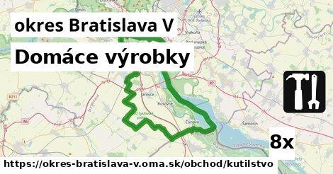ilustračný obrázok k Domáce výrobky, okres Bratislava V