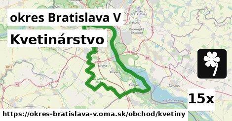 ilustračný obrázok k Kvetinárstvo, okres Bratislava V