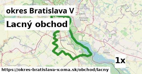 ilustračný obrázok k Lacný obchod, okres Bratislava V