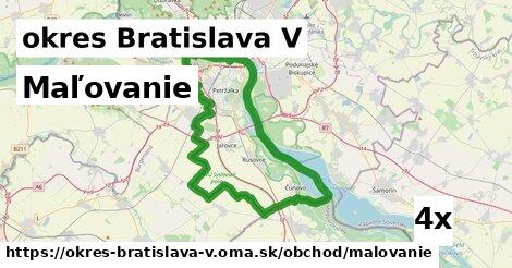 ilustračný obrázok k Maľovanie, okres Bratislava V
