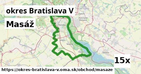 ilustračný obrázok k Masáž, okres Bratislava V