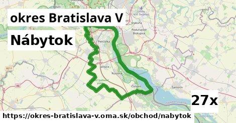 ilustračný obrázok k Nábytok, okres Bratislava V