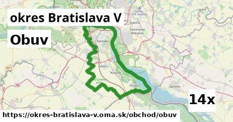 ilustračný obrázok k Obuv, okres Bratislava V