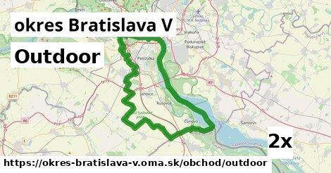 ilustračný obrázok k Outdoor, okres Bratislava V