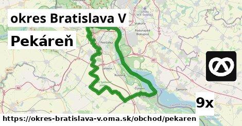 ilustračný obrázok k Pekáreň, okres Bratislava V