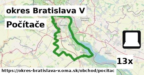 počítače v okres Bratislava V