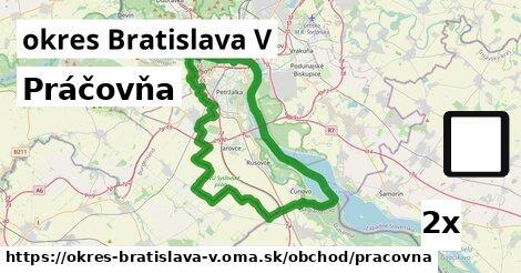 ilustračný obrázok k Práčovňa, okres Bratislava V