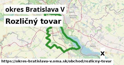 ilustračný obrázok k Rozličný tovar, okres Bratislava V