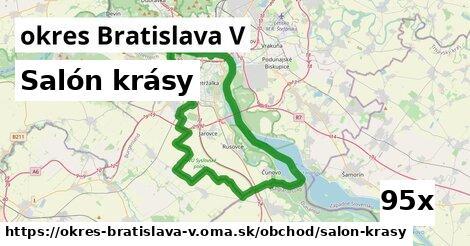ilustračný obrázok k Salón krásy, okres Bratislava V