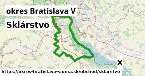 ilustračný obrázok k Sklárstvo, okres Bratislava V