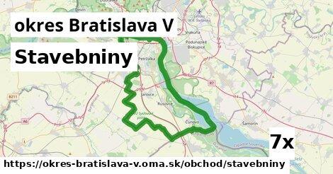ilustračný obrázok k Stavebniny, okres Bratislava V