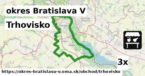 ilustračný obrázok k Trhovisko, okres Bratislava V