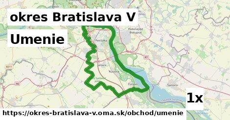 ilustračný obrázok k Umenie, okres Bratislava V