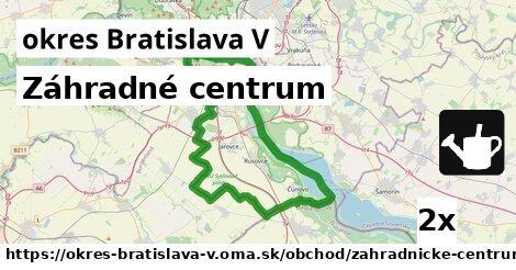 ilustračný obrázok k Záhradné centrum, okres Bratislava V
