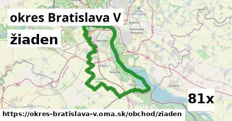 ilustračný obrázok k žiaden, okres Bratislava V