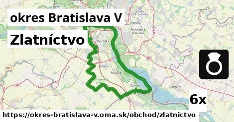 ilustračný obrázok k Zlatníctvo, okres Bratislava V