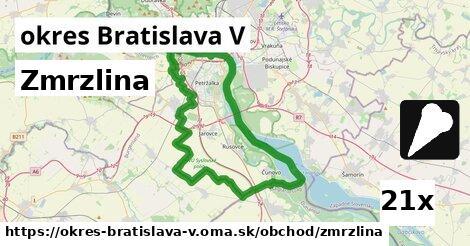 ilustračný obrázok k Zmrzlina, okres Bratislava V