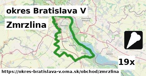 zmrzlina v okres Bratislava V