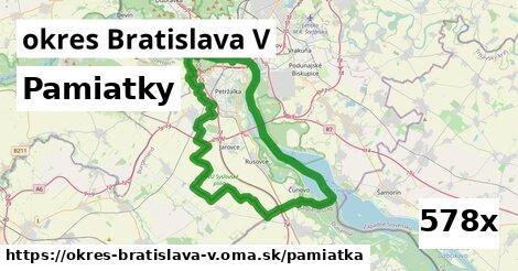 pamiatky v okres Bratislava V