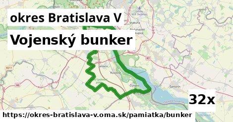 ilustračný obrázok k Vojenský bunker, okres Bratislava V